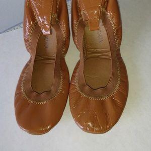 Yosi Samra Samara Foldable leather glossy Flats 8